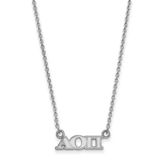 SS006AOP-18: 925 Logoart AOP Necklace