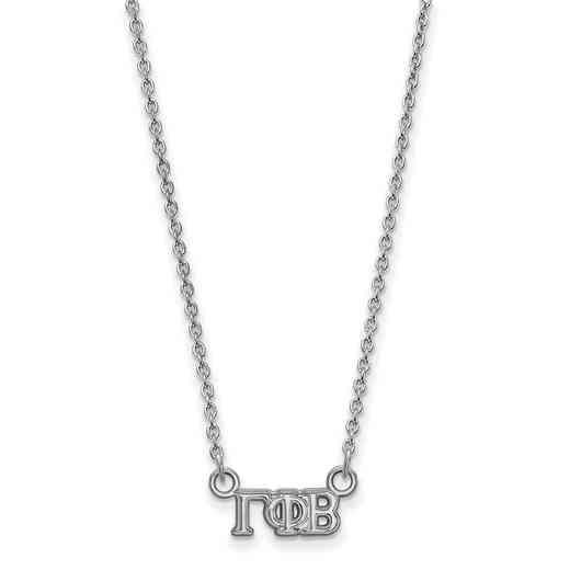 SS006GPB-18: 925 Logoart GPB Necklace
