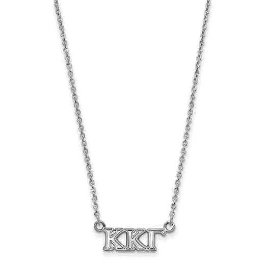 SS006KKG-18: 925 Logoart KKG Necklace