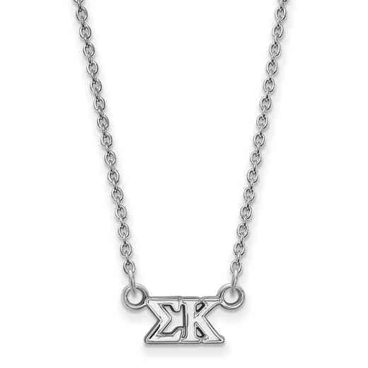 SS006SKP-18: 925 Logoart SP Necklace