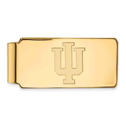 GP025IU: 925 YGFP Indiana Money Clip