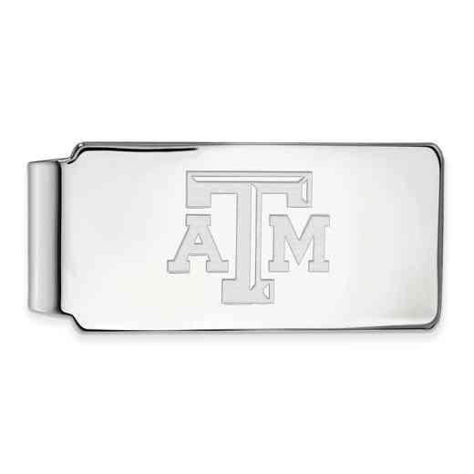 SS019TAM: 925 Texas A&M Money Clip