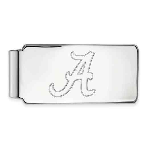 SS025UAL: 925 Alabama Money Clip