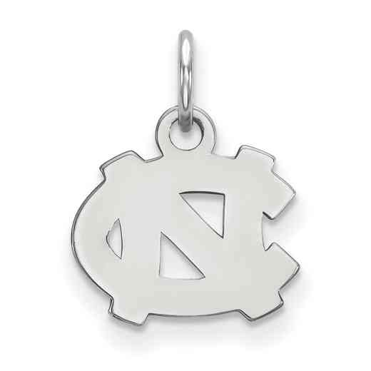 SS001UNC: 925 North Carolina XS Pendant