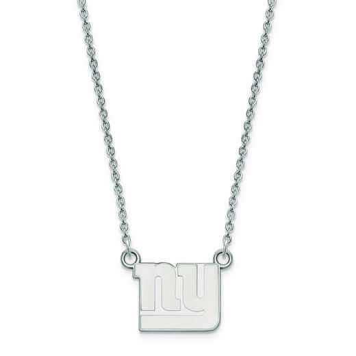 SS011GIA-18: 925 New York Giants Pendant Necklace