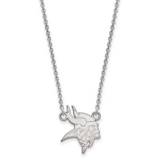 SS011VIK-18: 925 Minnesota Vikings Pendant Necklace