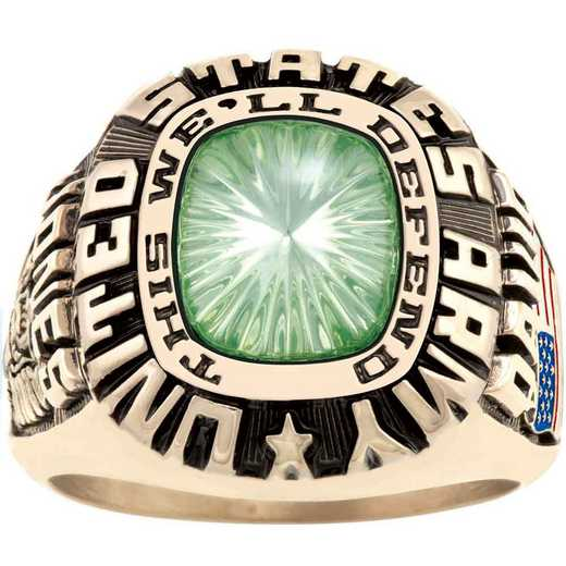 Patriot Men's Army Service Ring