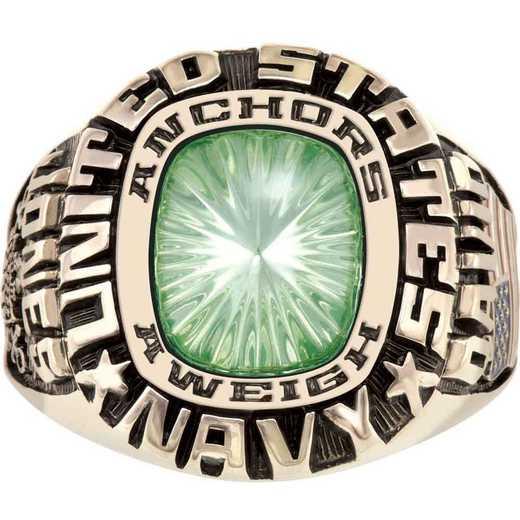 Patriot Men's Navy Service Ring