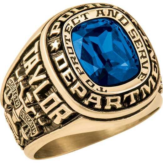 Patriot Men's Police Service Ring