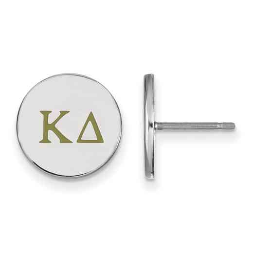 SS032KD: 925 Kappa Delta Enml Post Ears