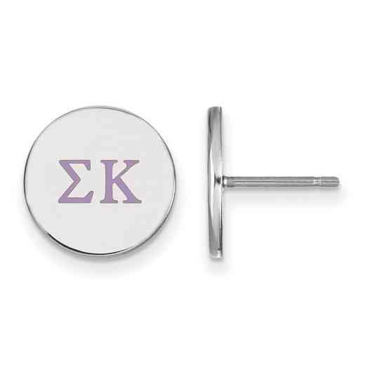 SS032SKP: 925 Sigma Kappa Enml Post Ears