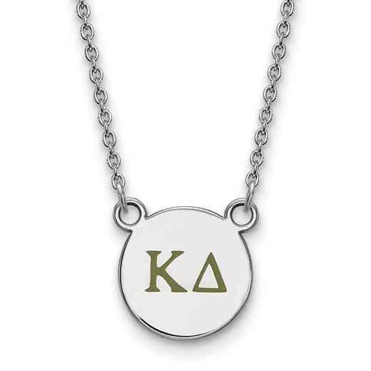 SS027KD-18: 925 Kappa Delta Sml Enl Neck
