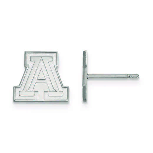SS007UAZ: 925 LogoArt University of Arizona Post Ears