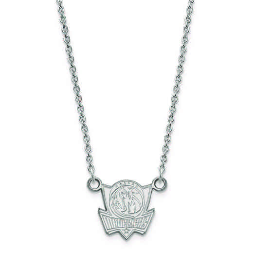 SS012MAV-18: 925 LogoArt Dallas Mavericks Pendant Neck