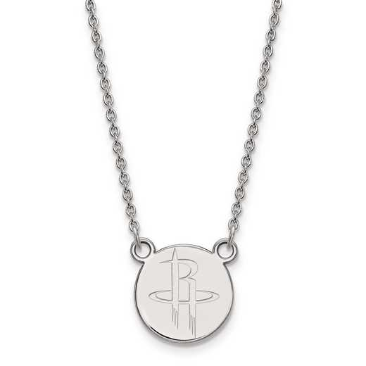 SS023RCK-18: 925 LogoArt Houston Rockets Pendant Neck
