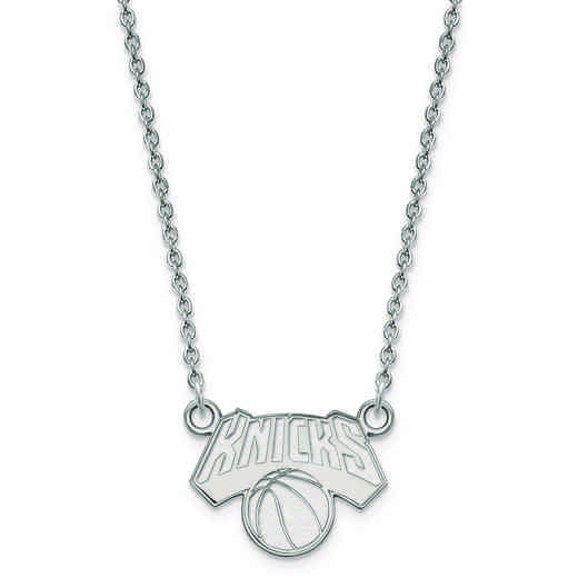 SS021KNI-18: 925 LogoArt New York Knicks Pendant Neck
