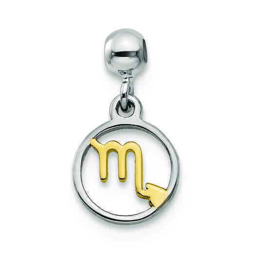 QMM192: 925 Mio Memento YLW RH PLT Scorpio Charm