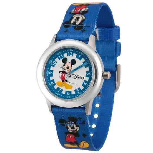 WDS000083: STNLSTL Disney Boys Thinking Mickey BluWatch Prnt Strap
