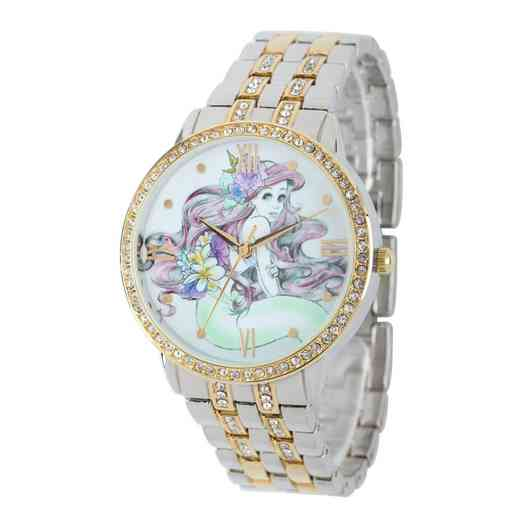 W001828: TT SilverGold/Gold Alloy Ariel Womens Watch W/Glitz