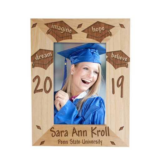 97440: Dream Graduation Wood Fram Alder 4 x 6