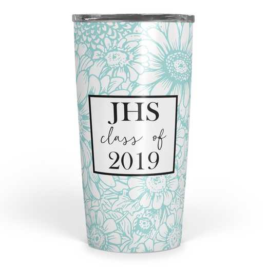 4628-E: Personalized SS Tumbler- 3 int Class of