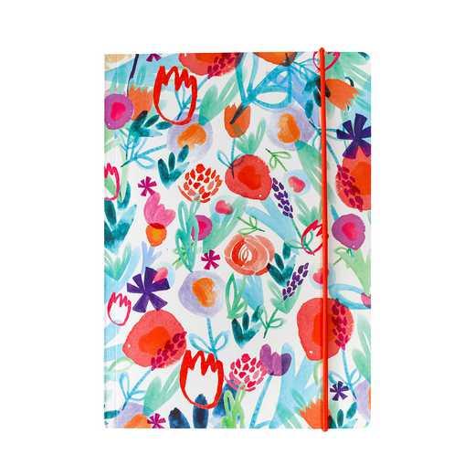 GTPNB22: Portico Notebooks  A5 FLEXI Spring floral