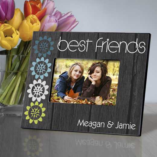 GC858 BFFNATURE: Personalized Forever Friends Friendship Frame