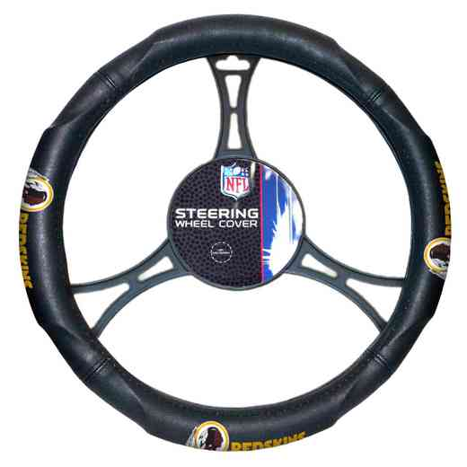1NFL605000020RET: NW CAR STEERING WHEEL COVER, REDSKINS