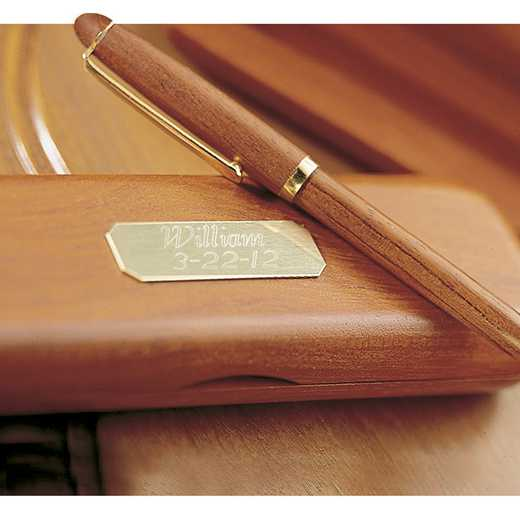 GC101: Personalized Rosewood Pen and Case