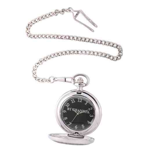 PW00068: Pocket Watch Silver Tone