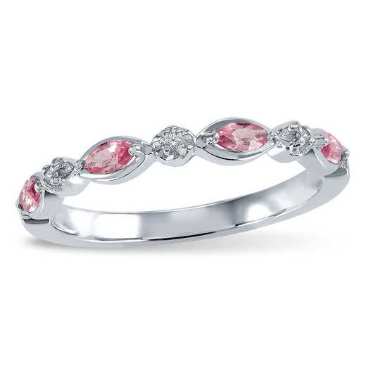 Touchstone Layla Stacking Birthstone Ring