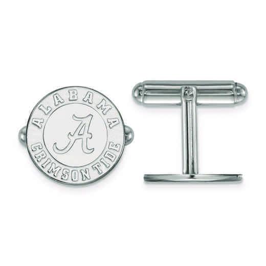 SS052UAL: SS LogoArt University of Alabama Cuff Link