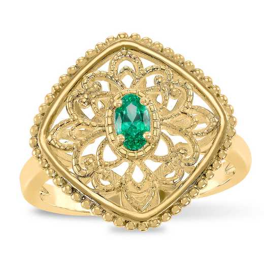 Prelude Elevate Filigree Ring with Swarovski Zirconia