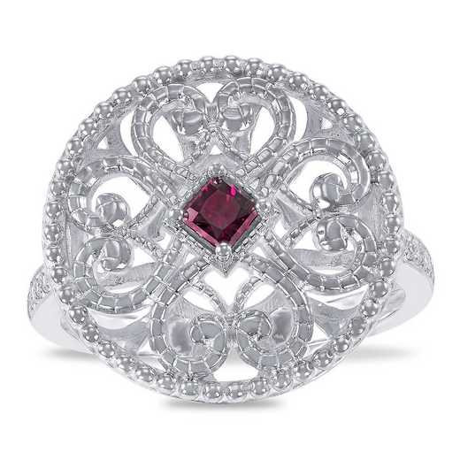 Prelude Ennoble Filigree Ring with Swarovski Zirconia