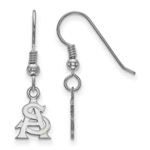 SS028AZS: SS LogoArt Arizona State Univ XS Dangle Earrings