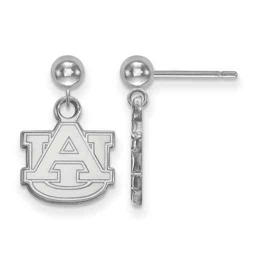 SS010AU: SS LogoArt Auburn Univ Earrings Dangle Ball