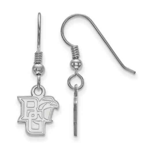 SS005BG: SS LogoArt Bowling Green State Univ XS Dangle Earrings