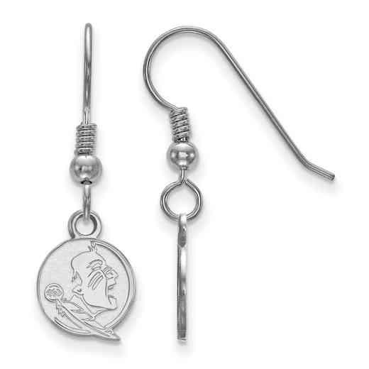 SS047FSU: SS LogoArt Florida State Univ XS Dangle Earrings