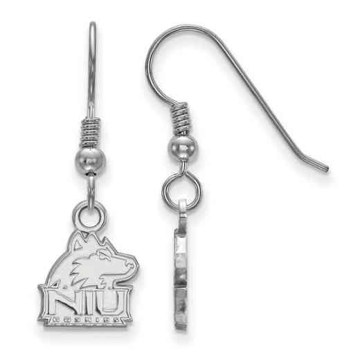 SS005NIU: SS LogoArt Northern Illinois Univ XS Dangle Earrings
