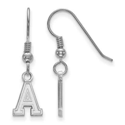 SS005USMA: SS LogoArt U.S. Military Academy XS Dangle Earrings