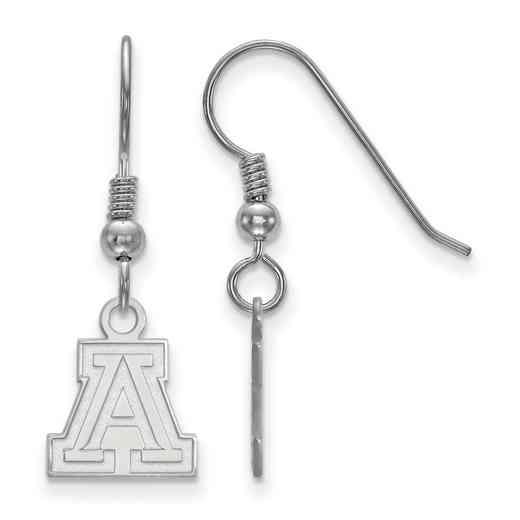 SS005UAZ: SS LogoArt Univ of Arizona XS Dangle Earrings