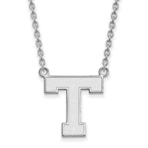 SS003TAS-18: SS LogoArt Tarleton St Univ LG Pendant w/Necklace