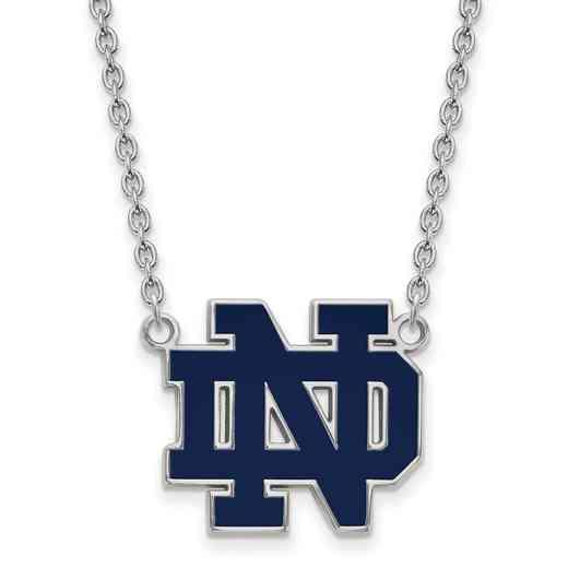 SS017UND-18: SS LogoArt Univ of Notre Dame LG Pendant Necklace