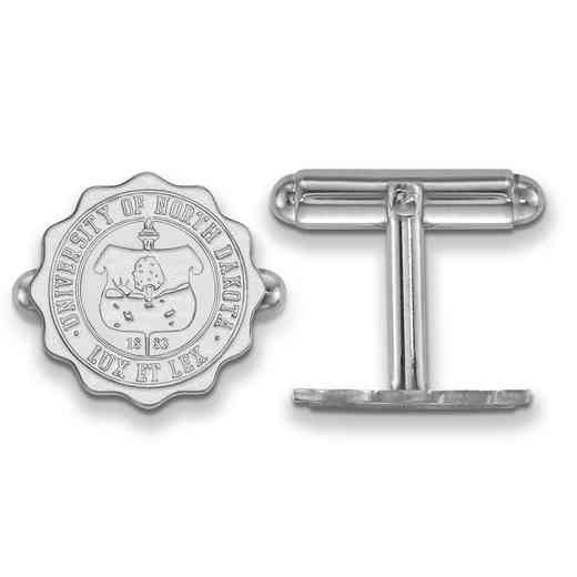 SS031UNOD: SS LogoArt University of North Dakota Crest Cuff Link
