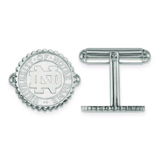 SS069UND: SS LogoArt University of Notre Dame Crest Cuff Link