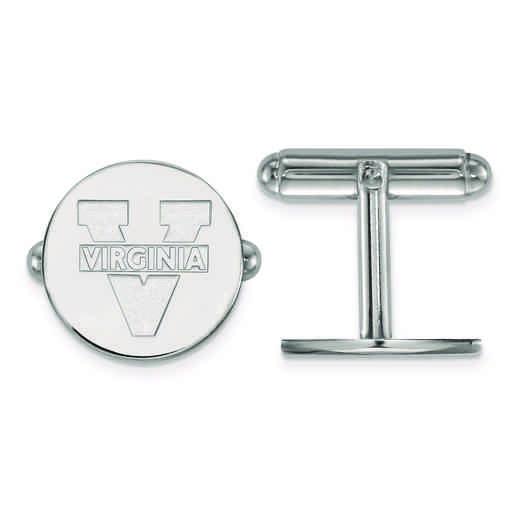 SS012UVA: SS LogoArt University of Virginia Cuff Link