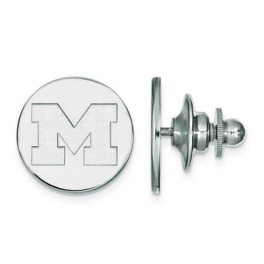 SS010UM: SS LogoArt Michigan (Univ Of) Tie Tac