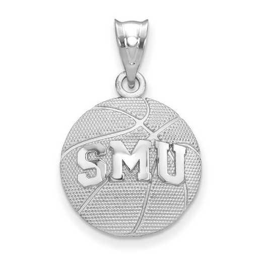 SS507SMU: SS Southern Methodist Univ Basketball Pendant