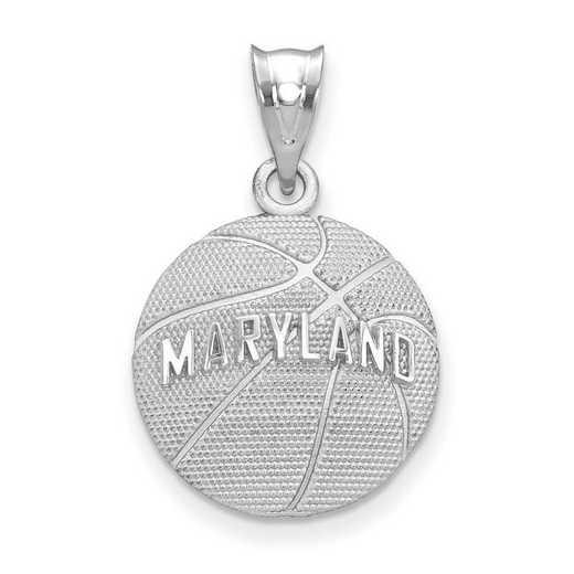 SS507UMD: SS Univ Of Maryland Basketball Pendant