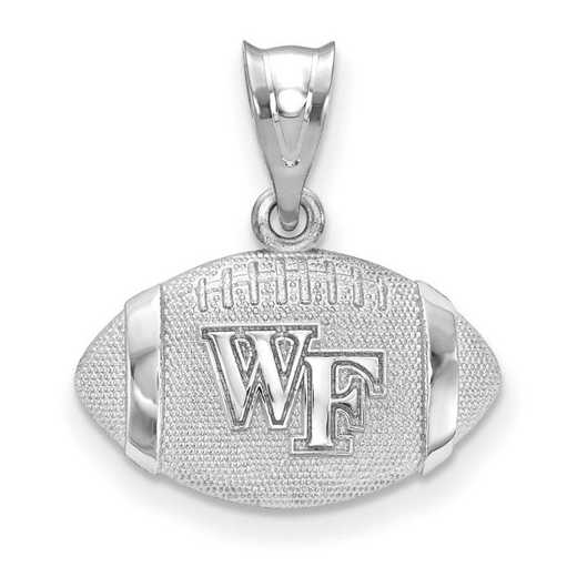 SS506WFU: SS Wake Forest Univ Football Pendant